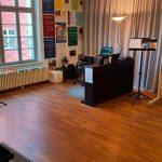 Gesangsunterricht in Memmingen mit Heinrich Lüneburg - Unterrichtsraum